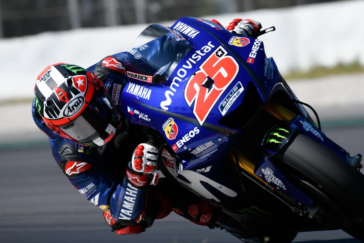 Testování MotoGP v Barceloně 2018