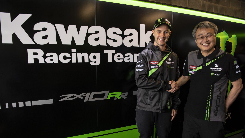 Jonathan Rea zůstává s Kawasaki další dva roky