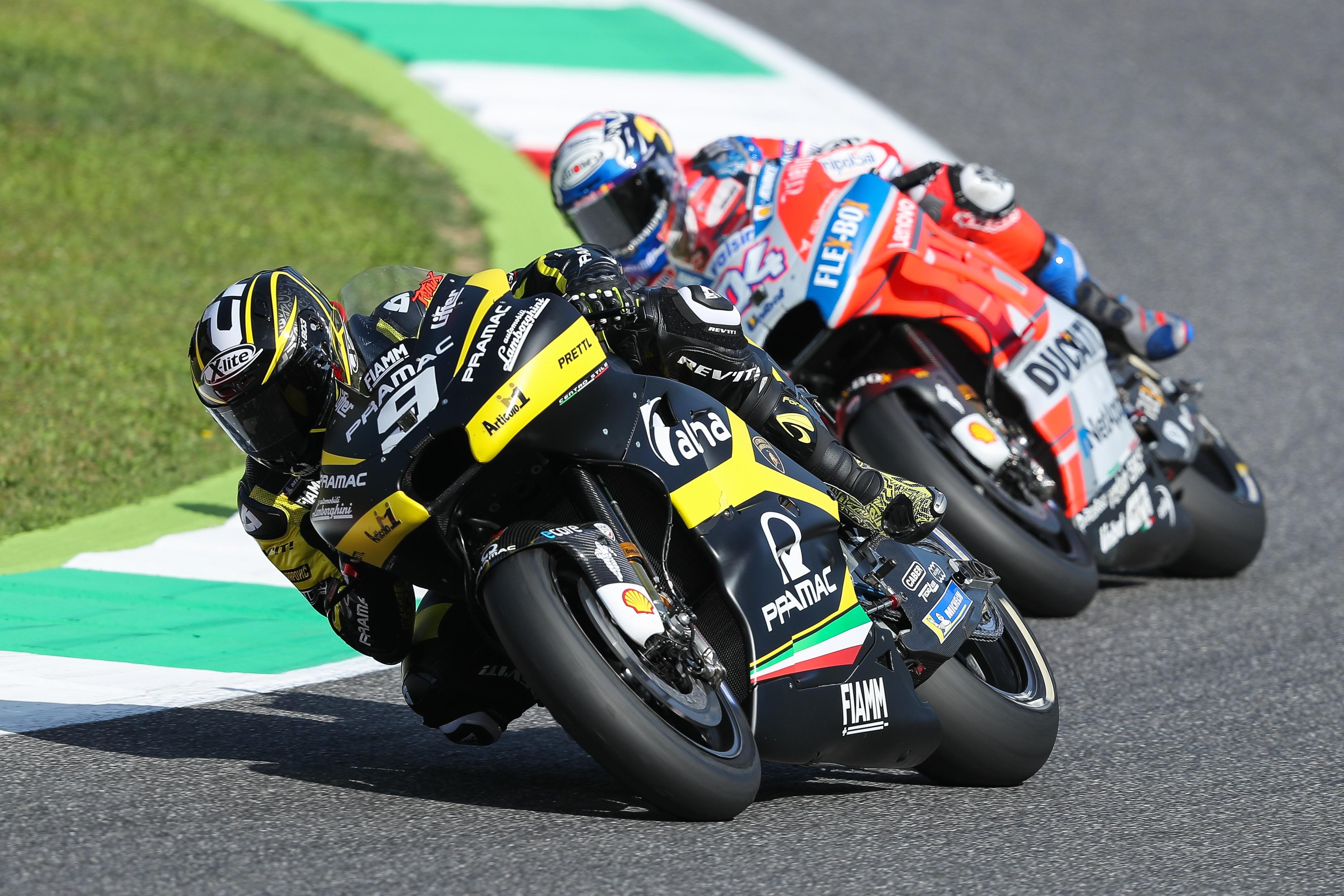 Danilo Petrucci bude továrním jezdcem Ducati