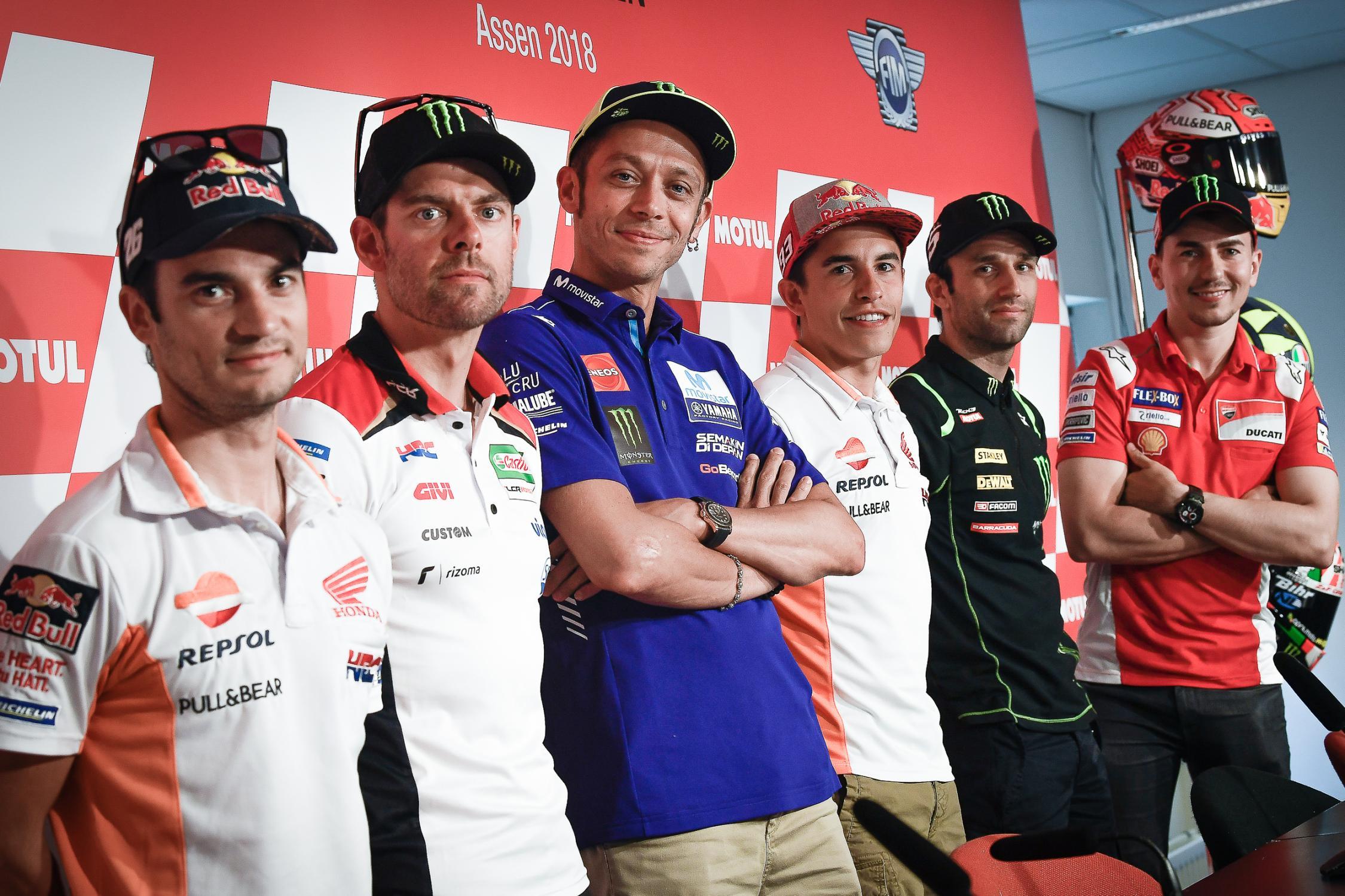 Tisková konference před Dutch TT 2018