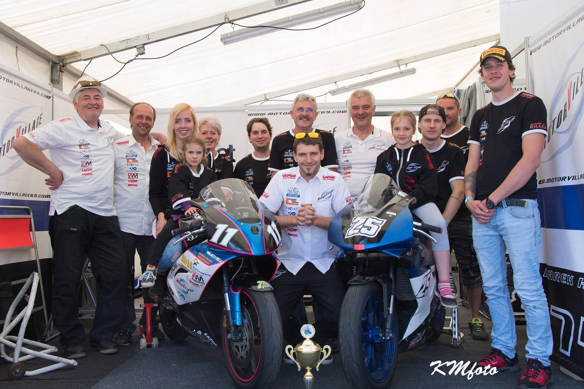 Pierre Coppa, Ital s českými kořeny se chystá na závod mistrovství světa Supersportů v Brně