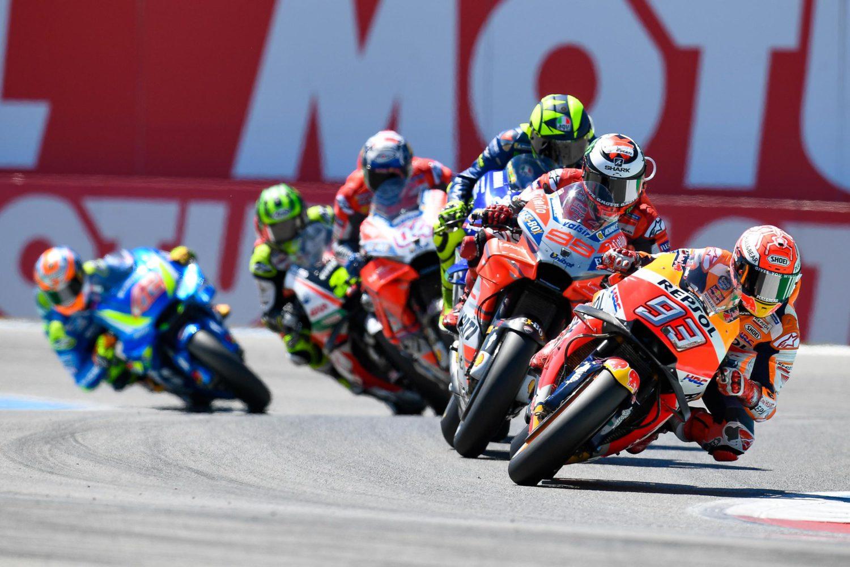 Jezdci MotoGP po závodě #DutchGP / MotoGP riders after the race in Assen