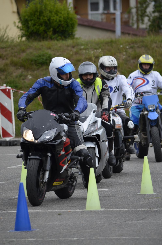 Závody Moto Gymkhany ve Žďáru nad Sázavou
