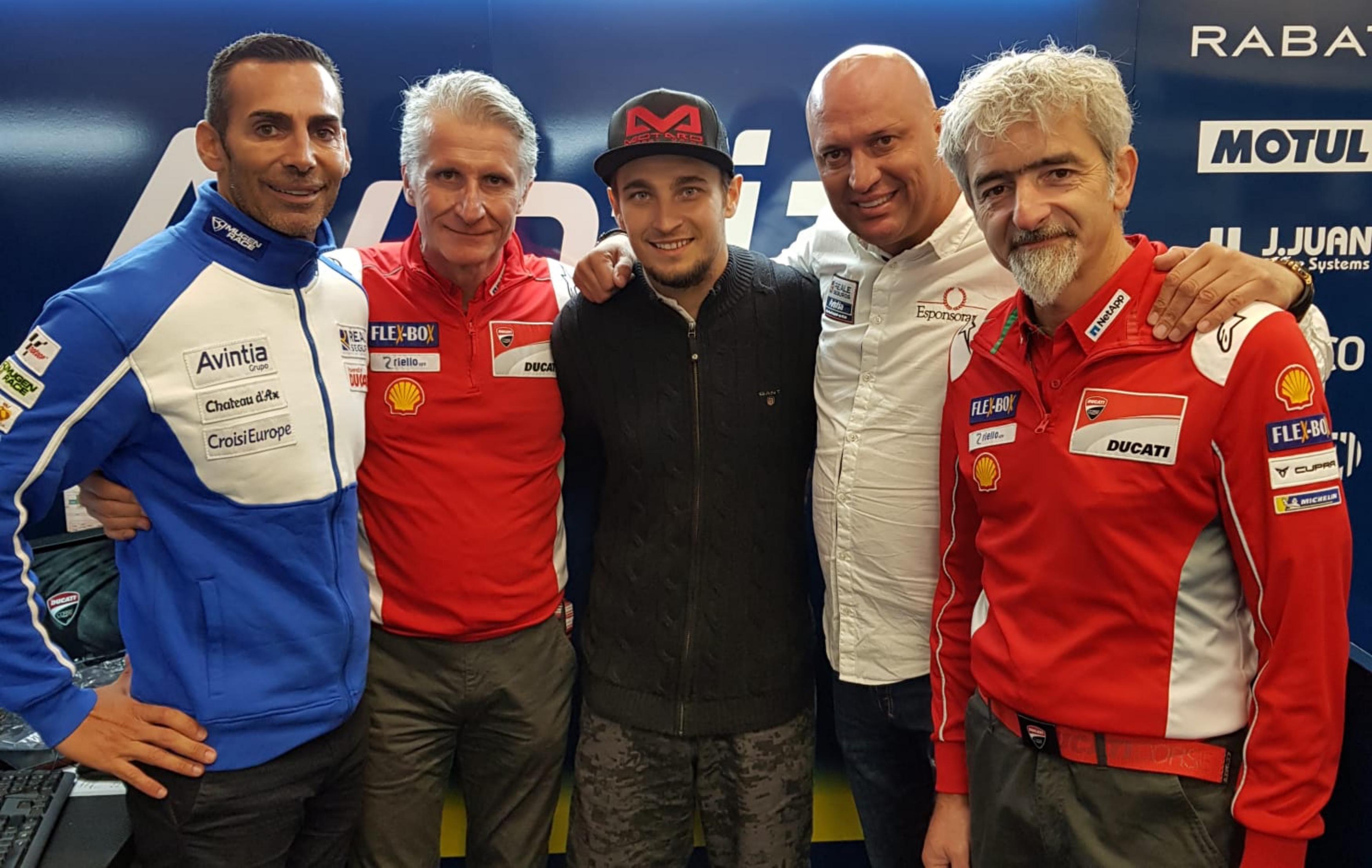Karel Abraham podepsal na dva roky u týmu Avintia Racing