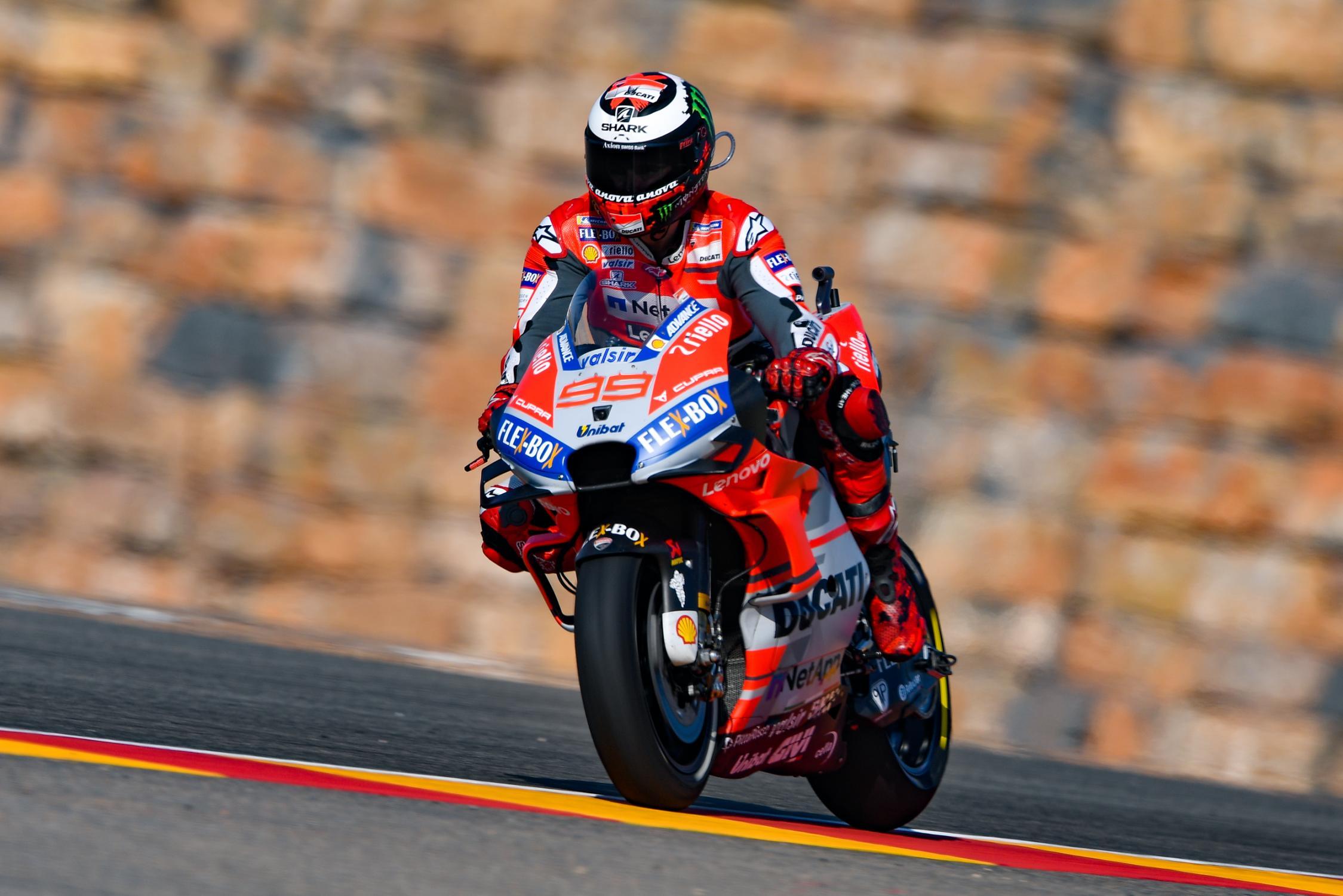 Výsledky kvalifikací MotoGP Aragon 2018