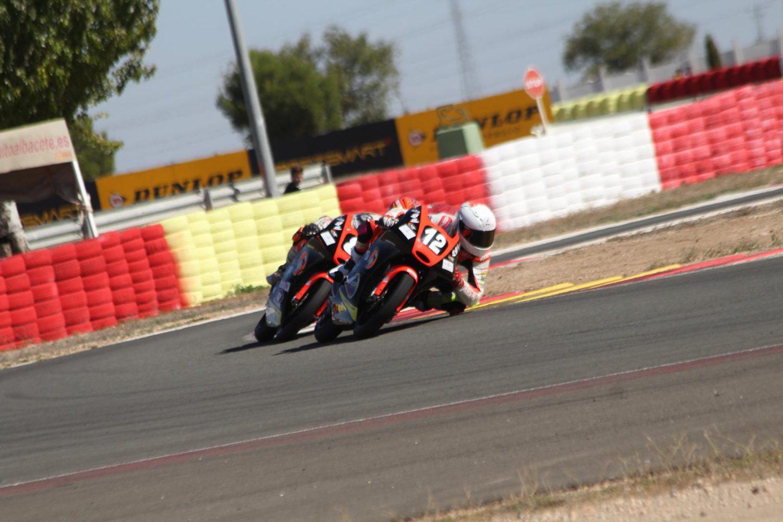 Filip Salač si po stíhací jízdě z Albacete odváží další umístění v Top10