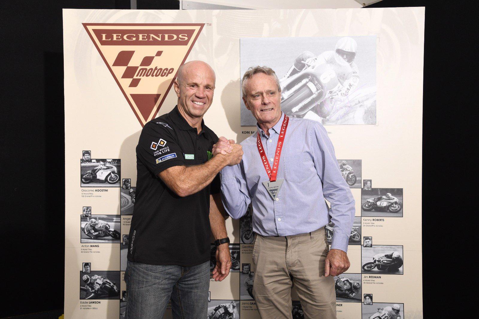 Kork Ballington byl zařazen do síně Legend MotoGP