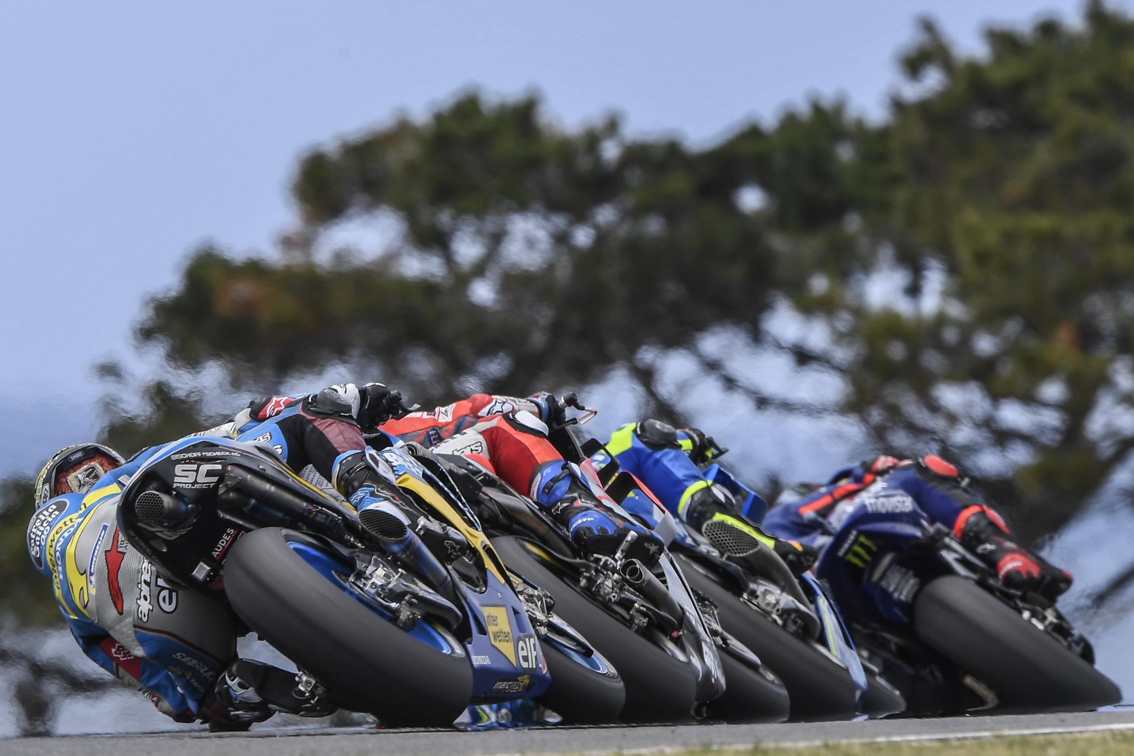 Výsledky závodů MotoGP Austrálie 2018