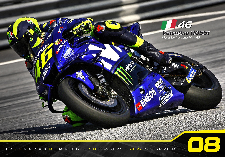 Nástěnný kalendář MotoGP 2019