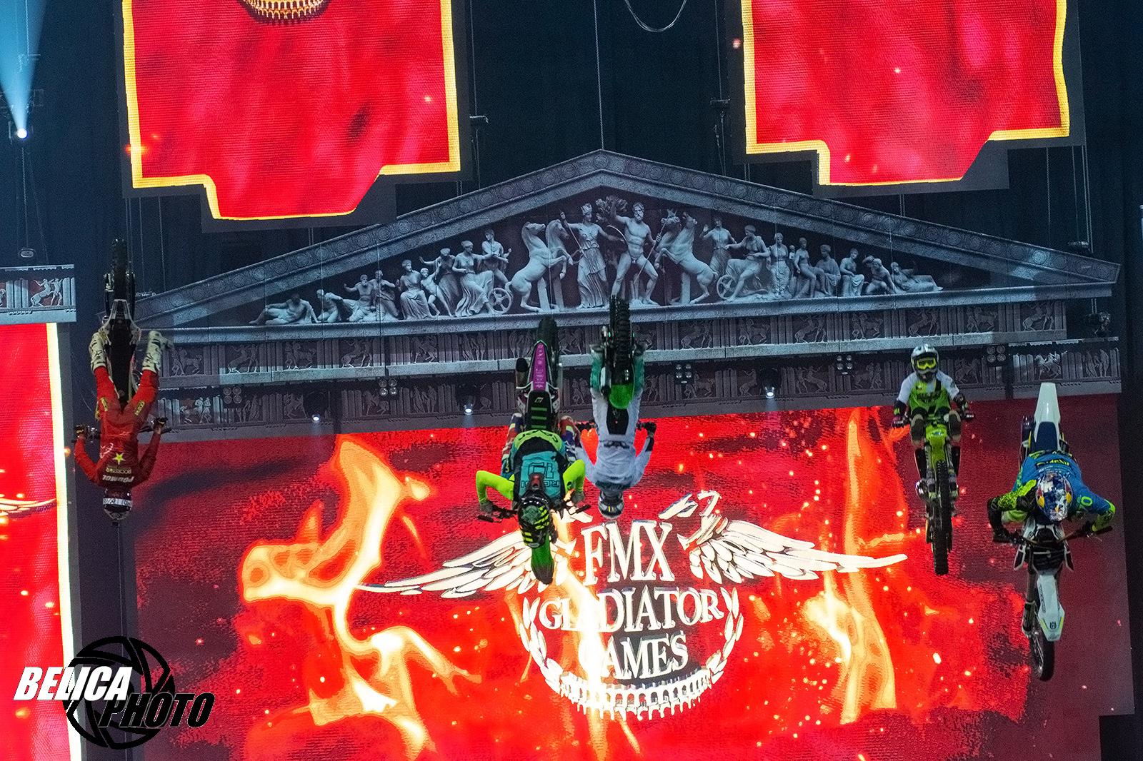 Fotogalerie FMX Gladiator Games 2018 od Dušana Belicy
