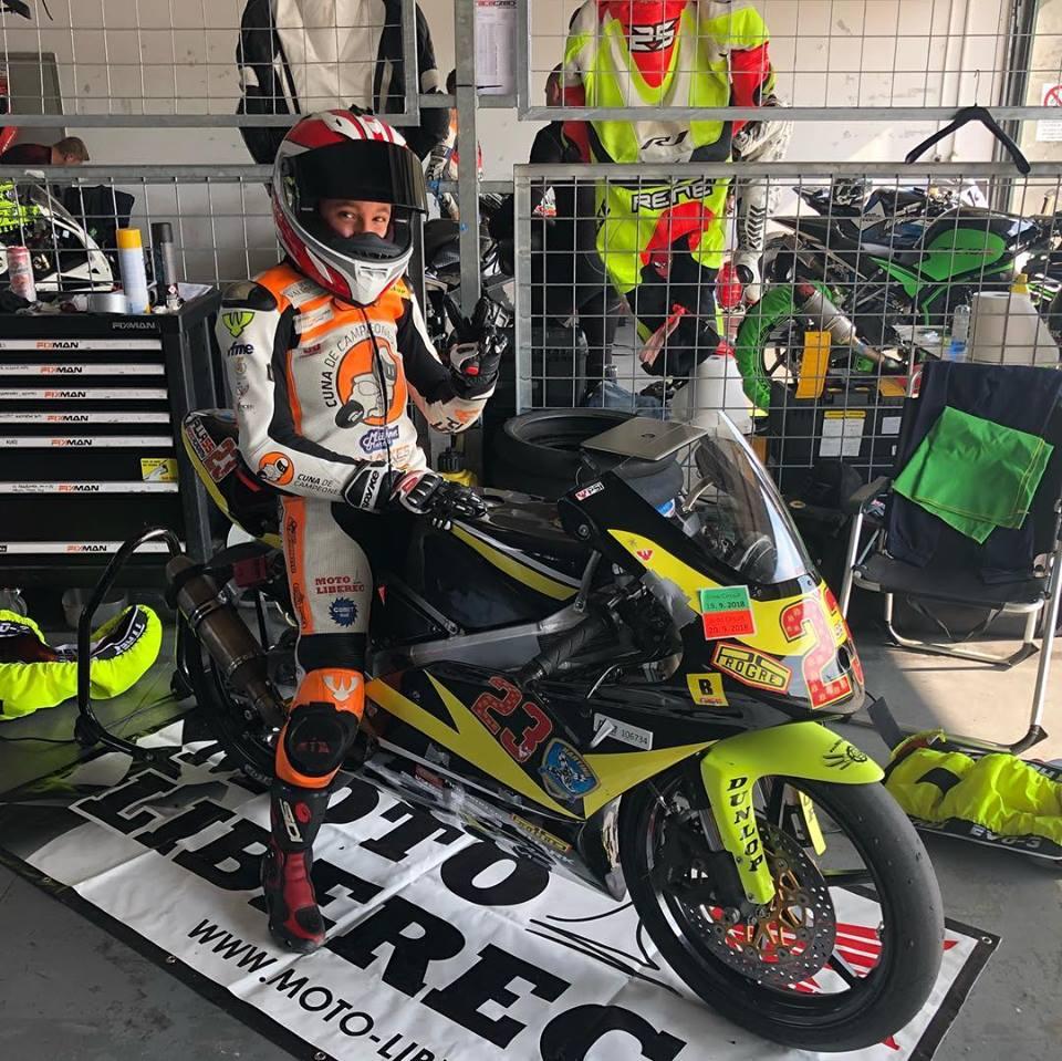 Štěpán Zuda pojede při MotoGP ve Valencii v Pre Moto 4