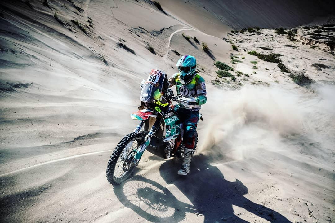 """Ondřej Klymčiw: """"Sledujte náš živý přenos z poslední etapy rallye Dakar 2019"""""""