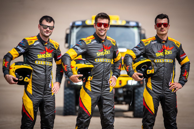 Big Shock Racing před startem rallye Dakar 2019