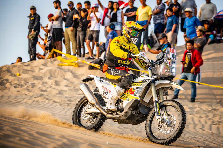 Jan Brabec a Martin Macík po poslední etapě Dakaru 2019