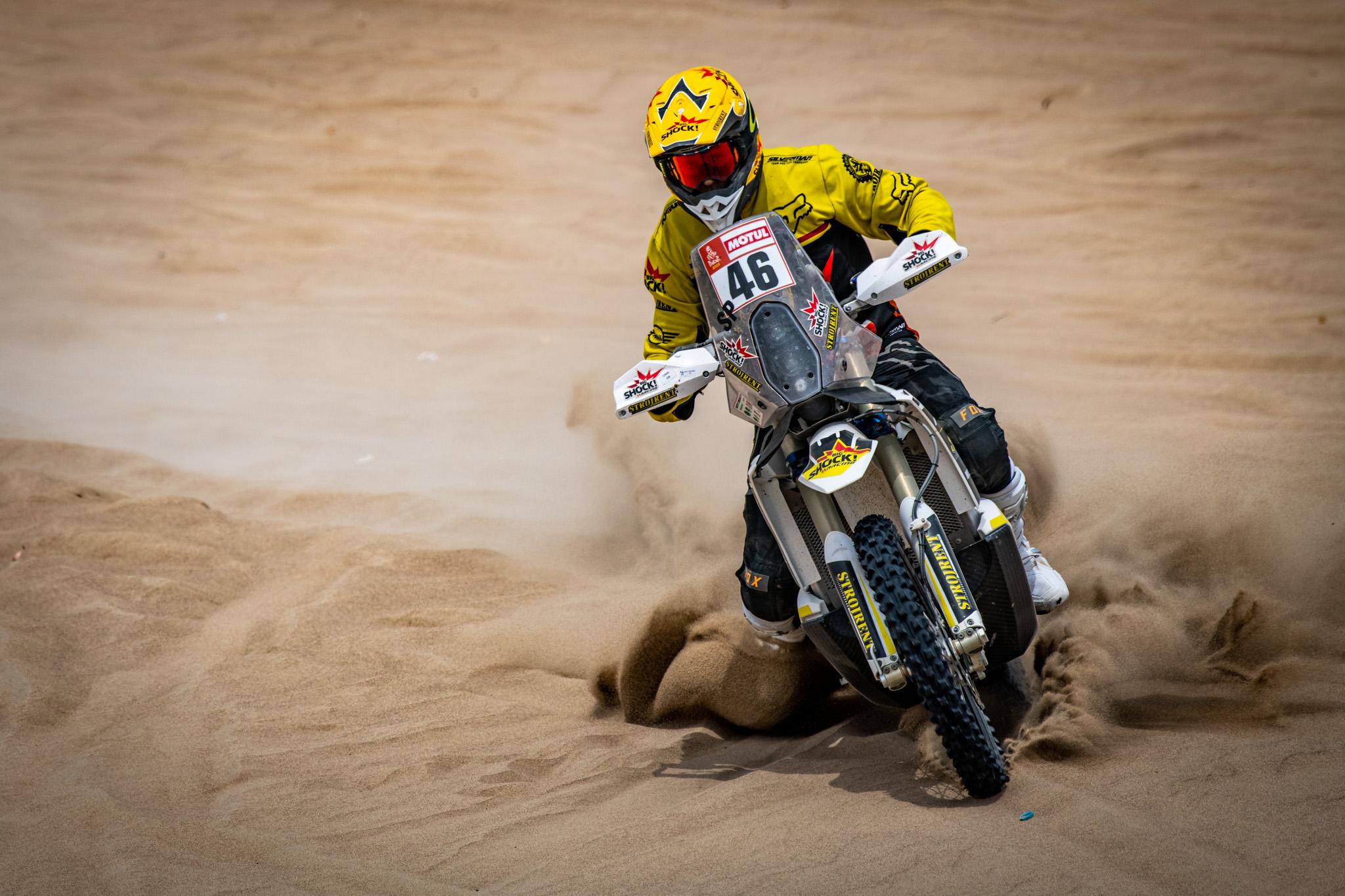Dakar 2019: Zážitky z 1. etapy od Martina Macíka a Jana Brabce
