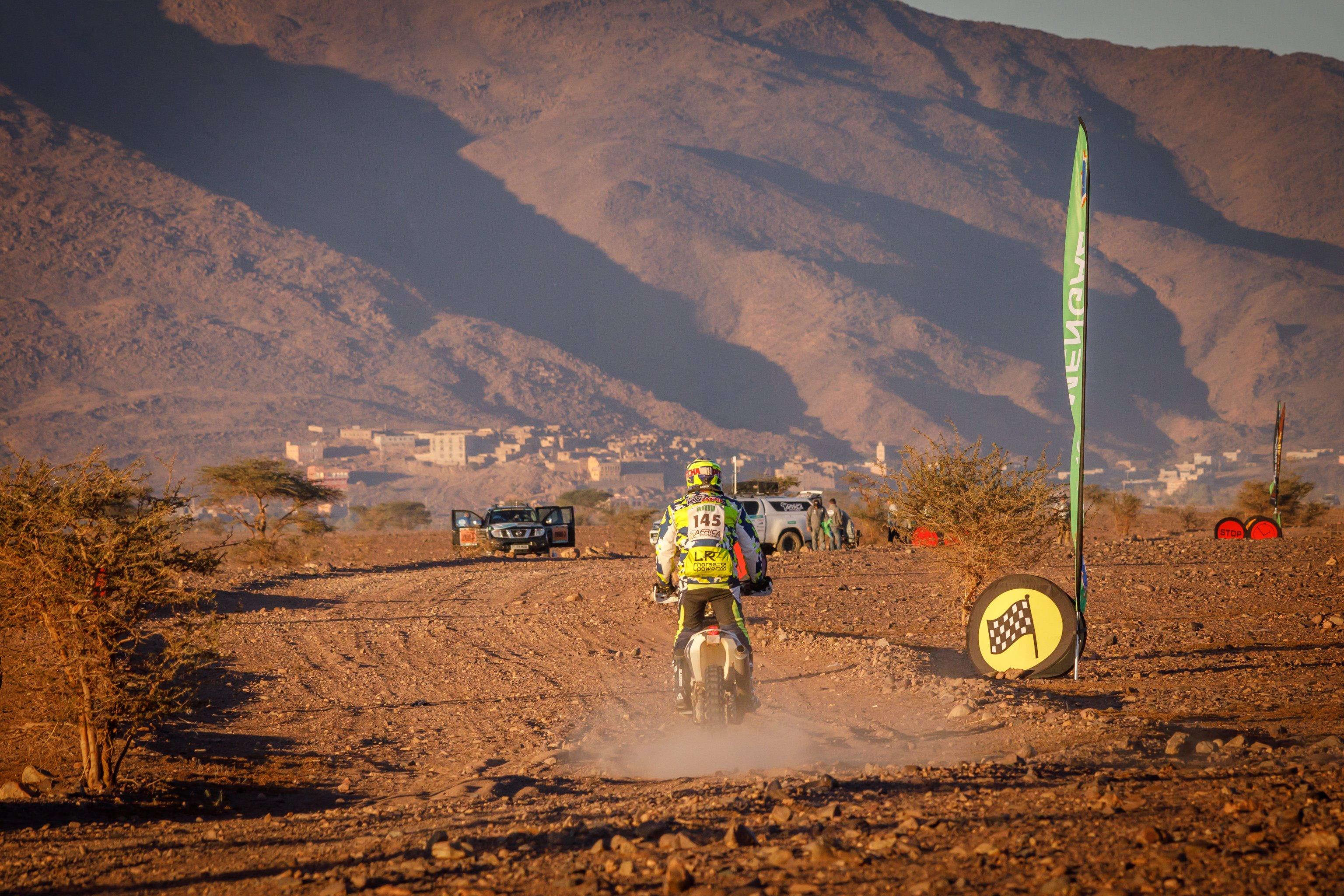 Lukáš Kvapil po 2. náročné etapě Africa Eco Race
