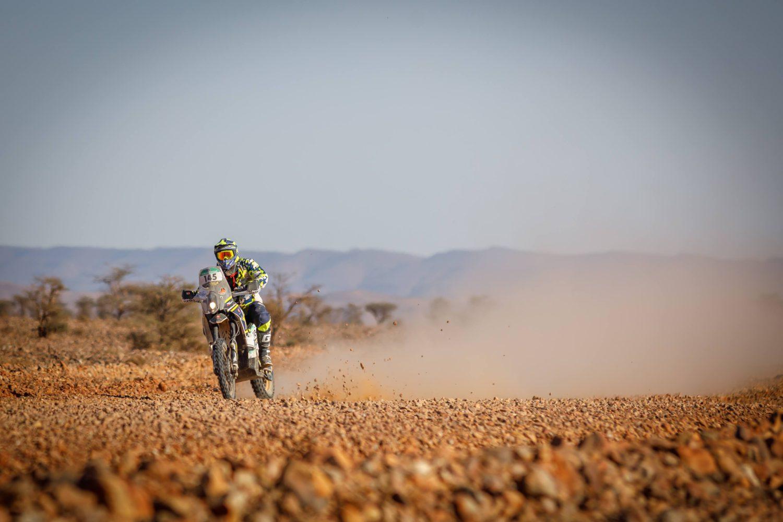 Lukáš Kvapil po třetí etapě Africa Eco Race