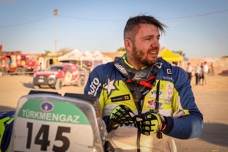 """Lukáš Kvapil po 5. etapě v Africe: """"Nabírám tempo, otrkávám se"""""""