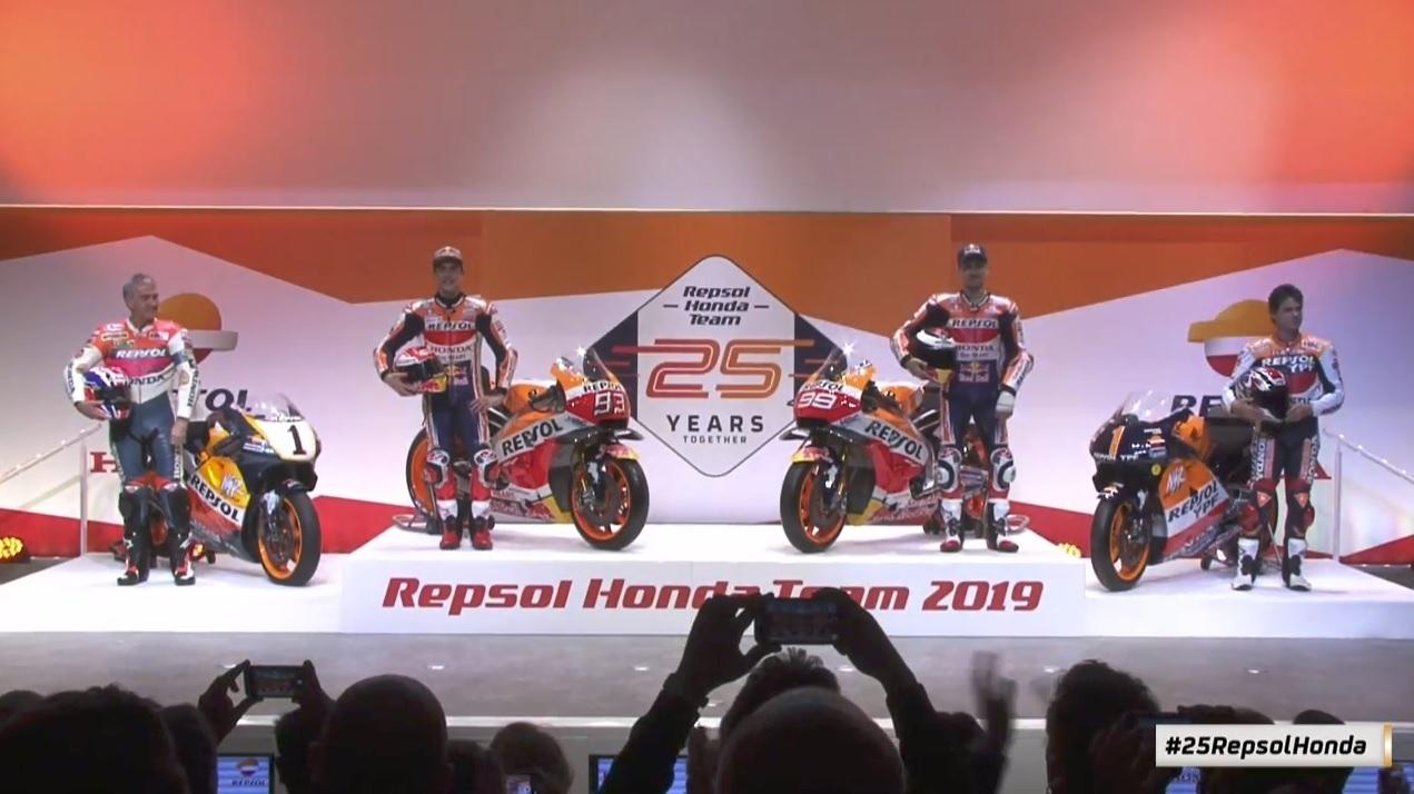 Představení týmu Repsol Honda pro sezónu 2019