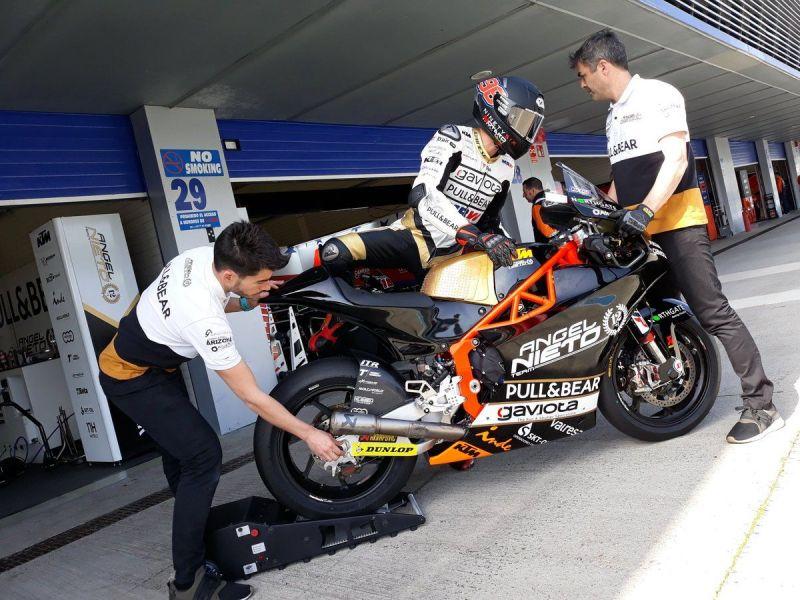 Výsledky testování Moto2 a Moto3 v Jerezu