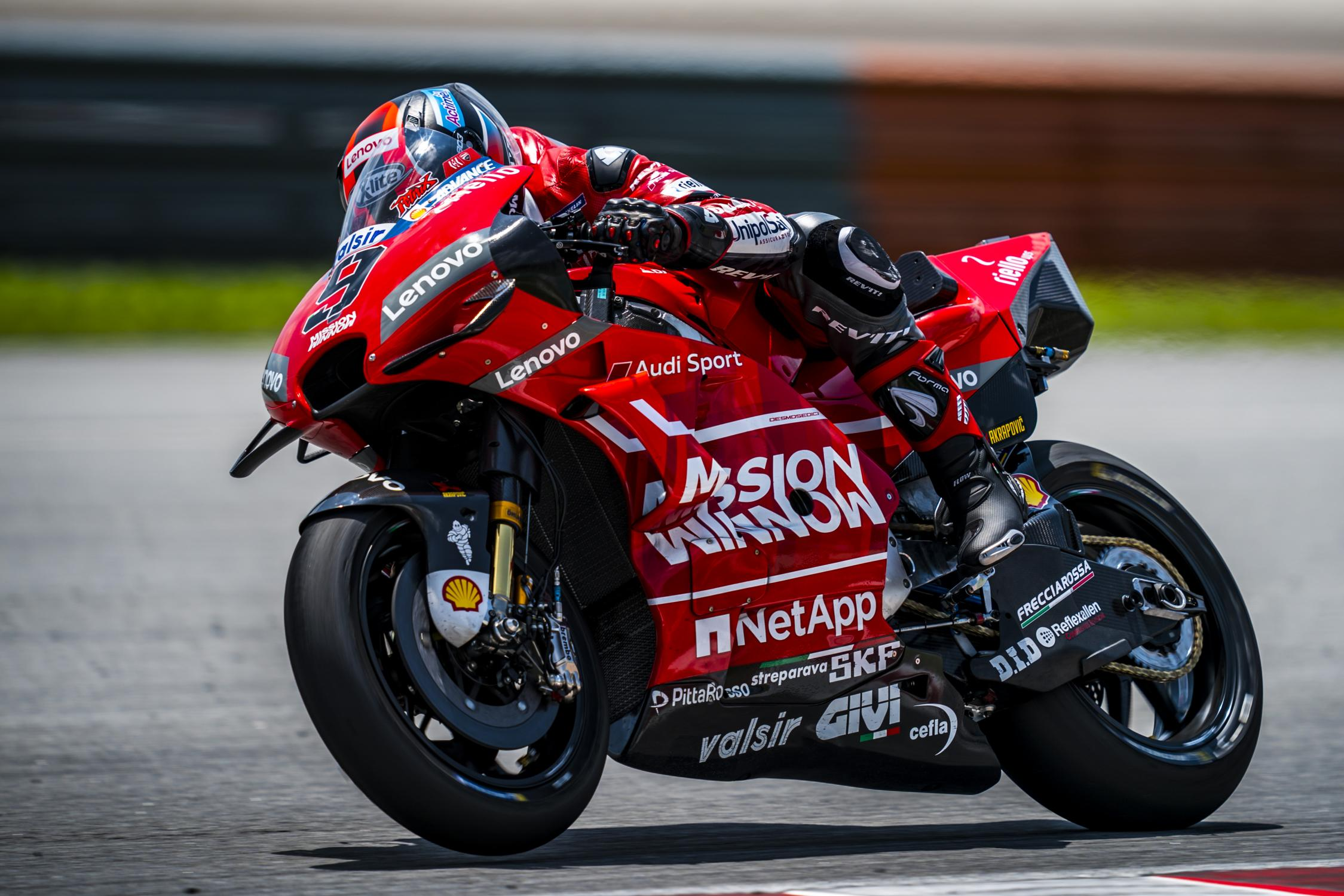 Výsledky 3. dne testu MotoGP v Sepangu