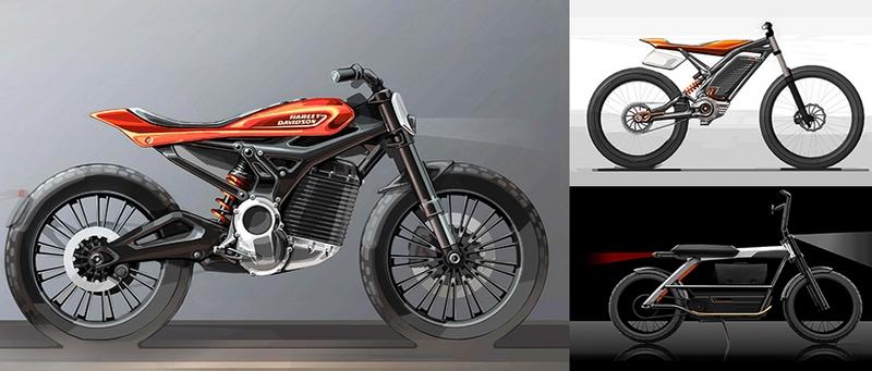 Harley-Davidson představuje projekt elektrických a dětských motocyklů