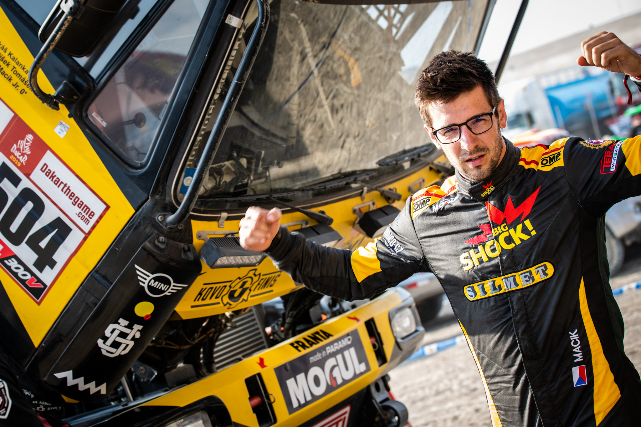 Martin Macík vymění Liazku za traktor při Rallye Šumava