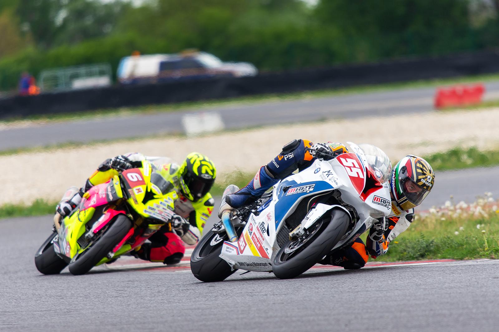První letošní závody MMČR na závodních okruzích na Slovakiaringu