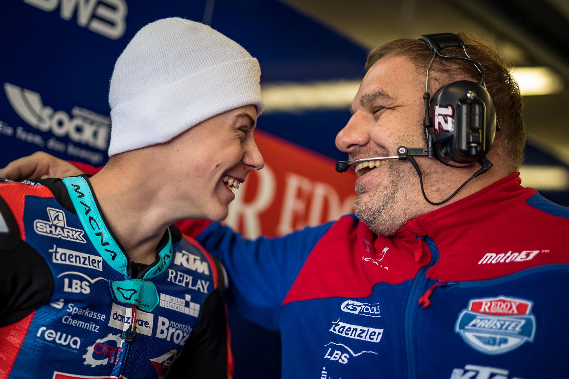 """Filip Salač: """"V Le Mans je to zatím nejlepší víkend sezóny"""""""