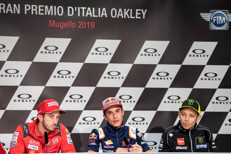 Tisková konference před MotoGP Itálie 2019
