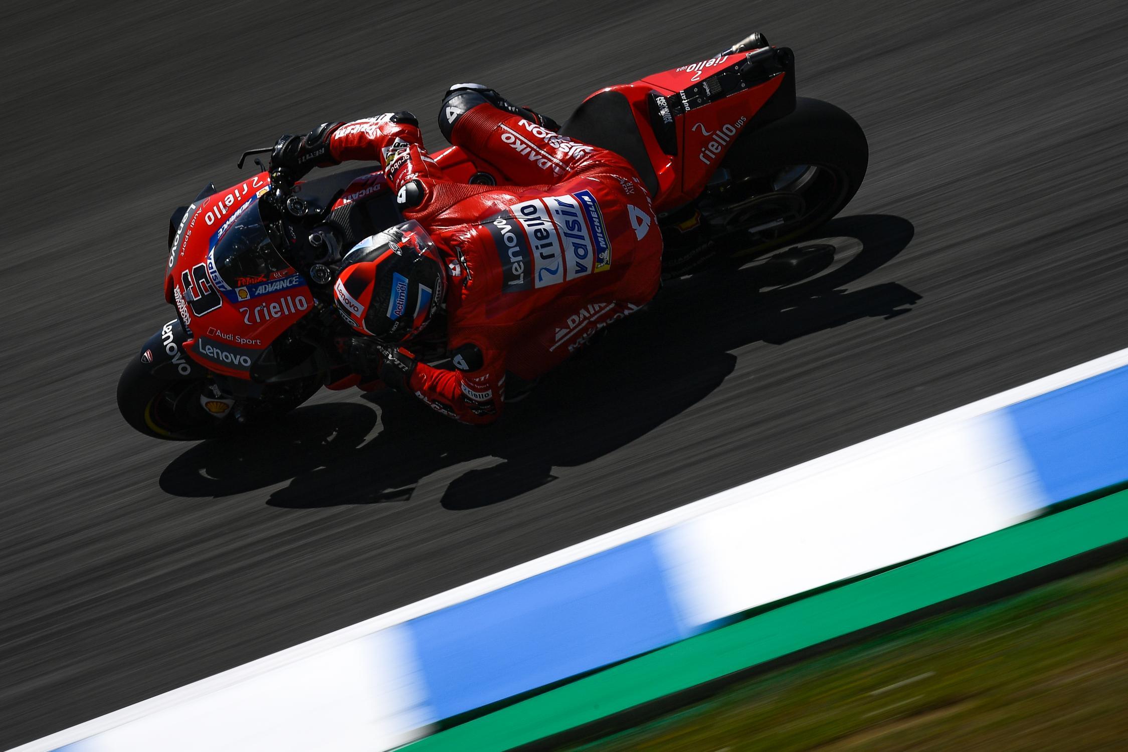 Tréninky MotoGP Španělska 2019