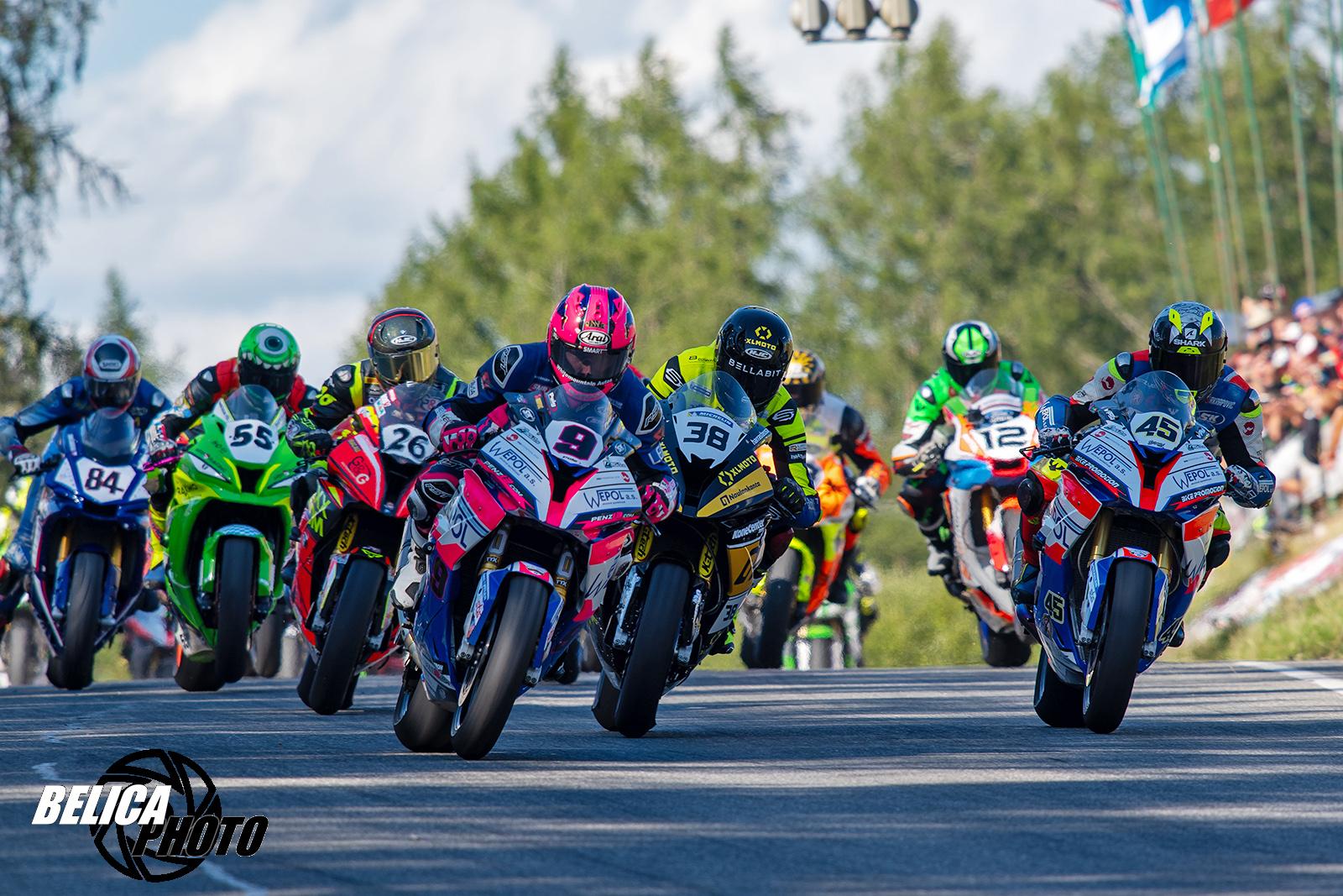 Kalendář silničních závodů motocyklů AČR na rok 2020 a změny pro přírodní okruhy