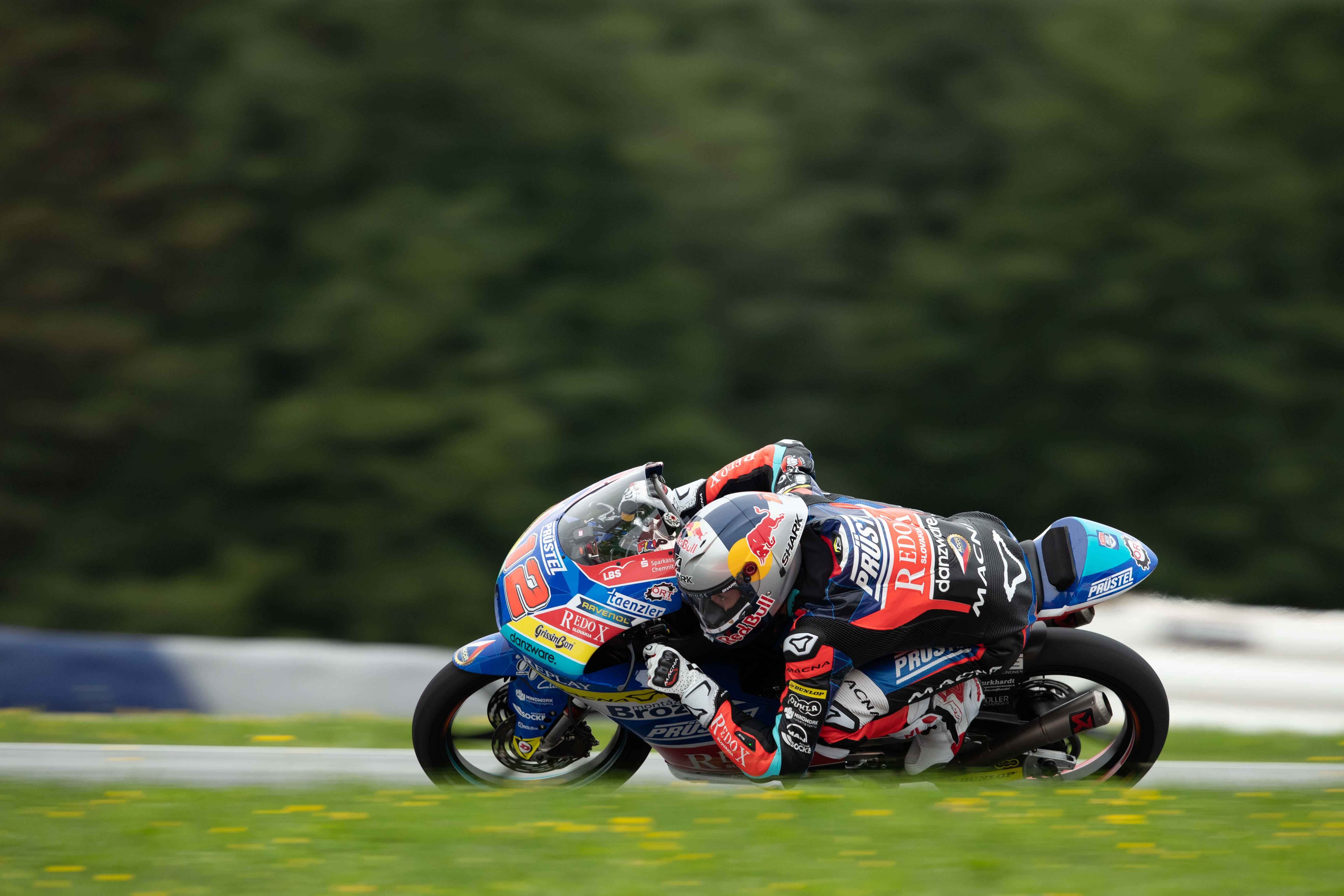 Filip Salač po GP Rakouska