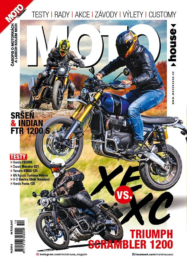Právě vychází nový Motohouse 10/2019