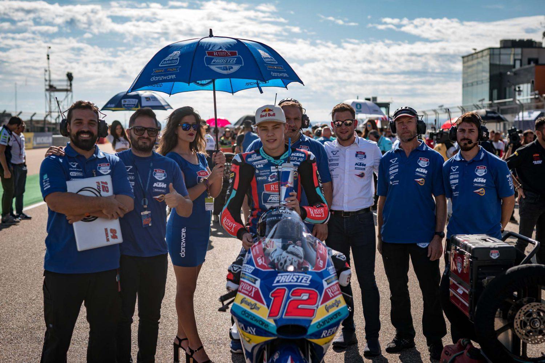 """Filip Salač: """"O závodě v Aragónu rozhodlo nastavení motorky"""""""