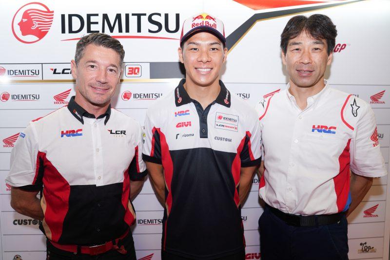 Honda prodloužila smlouvu s Takaaki Nakagamim