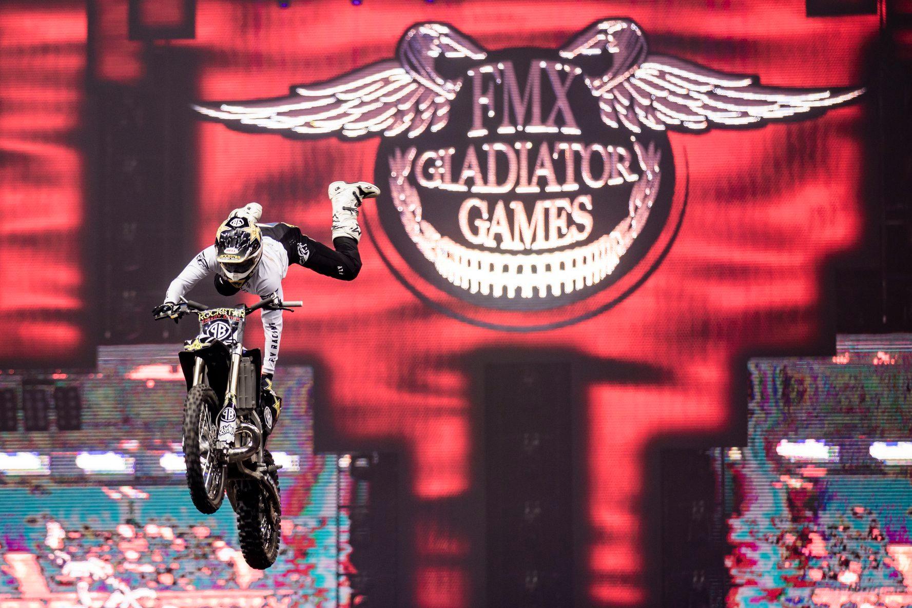 FMX Gladiator Games znovu vyprodaly O2 arénu a připravuje se již 20. ročník