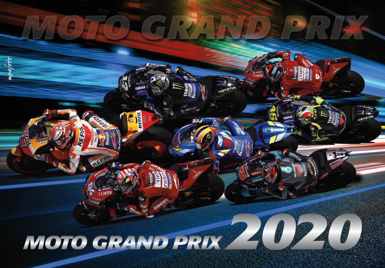 Tip na dárek: Nástěnný kalendář MotoGP 2020