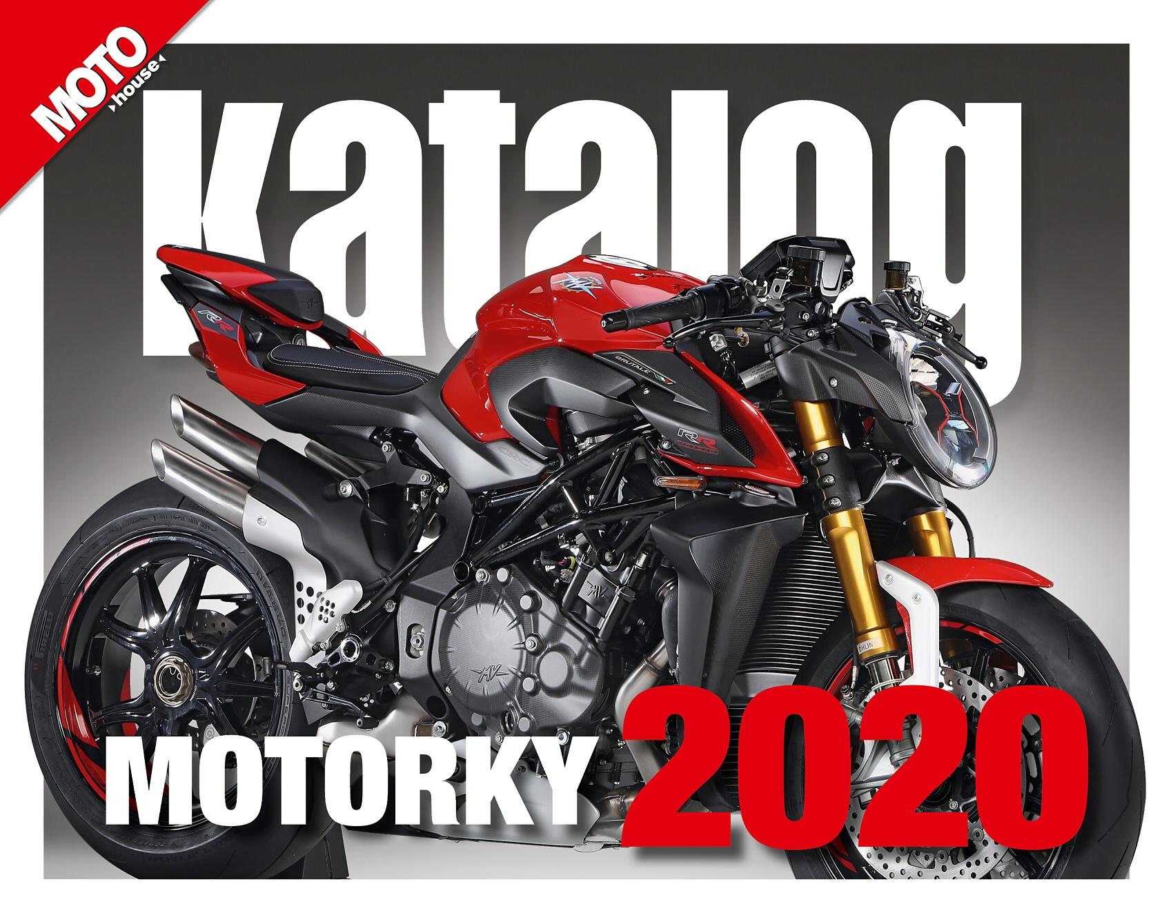 Právě vychází: Motohouse katalog motorek a čtyřkolek 2020