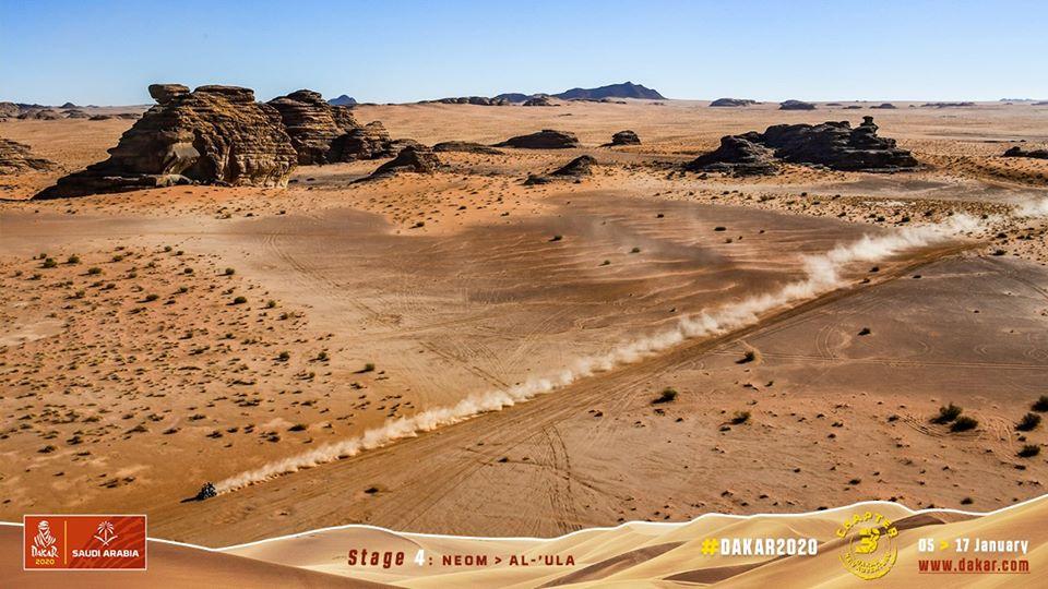 Výsledky 4. etapy rallye Dakar 2020