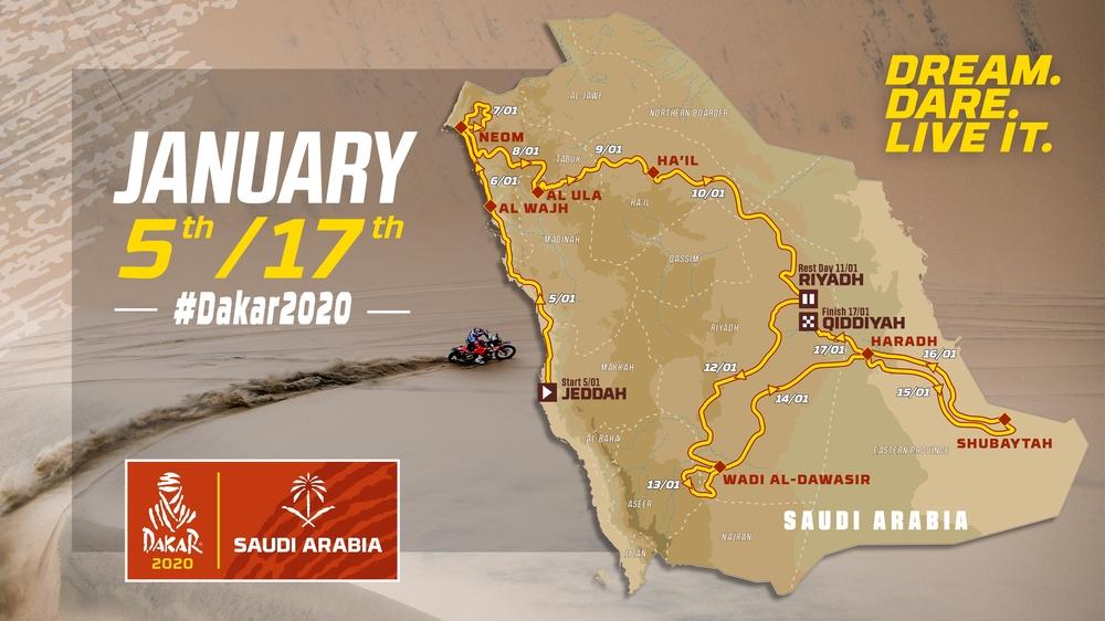 Dakar 2020: Informace k závodu