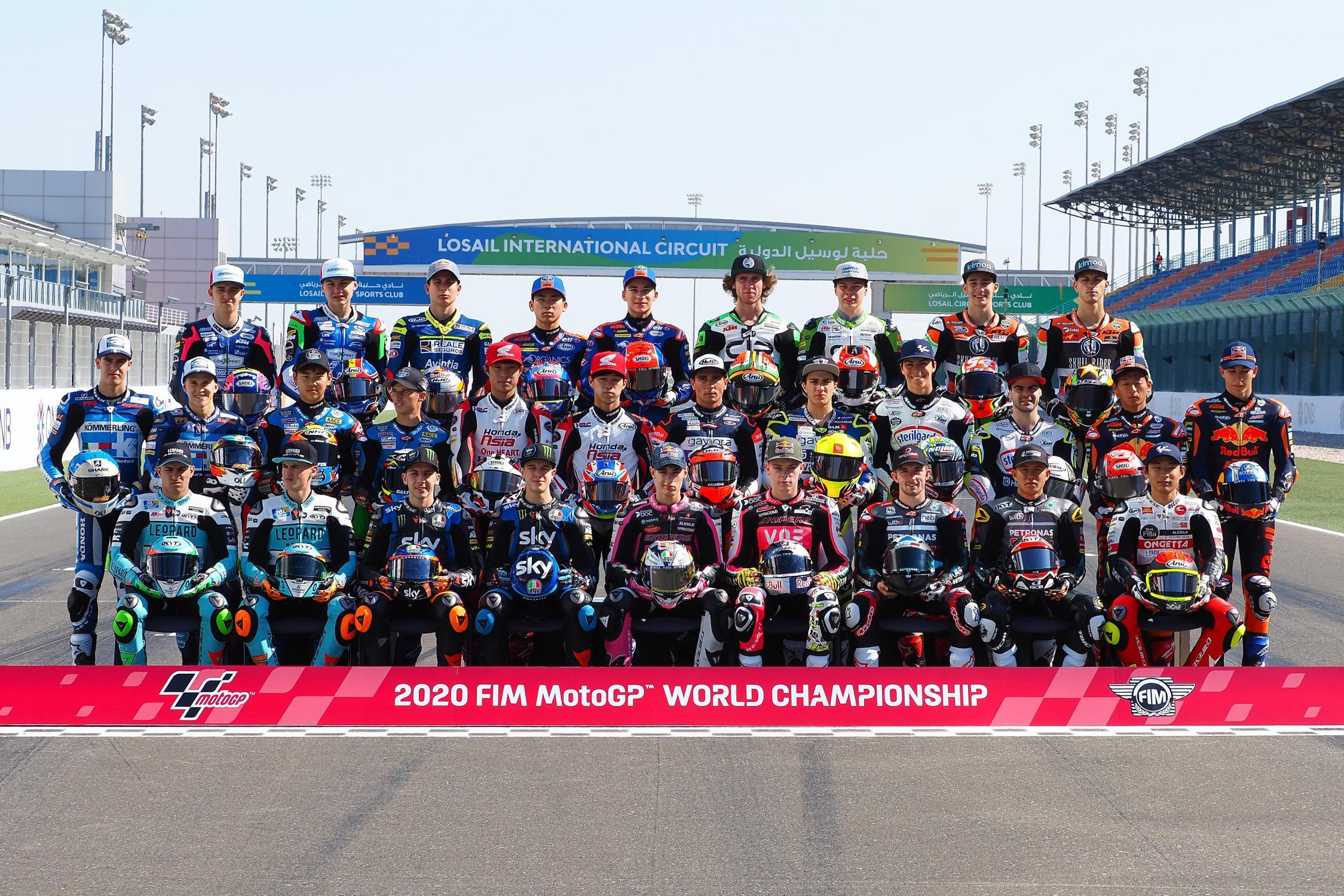 Výsledky tréninků MotoGP Kataru 2020