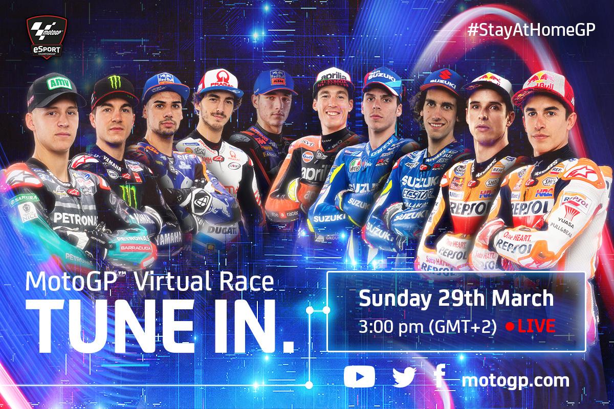 MotoGP přichází s virtuálním závodem