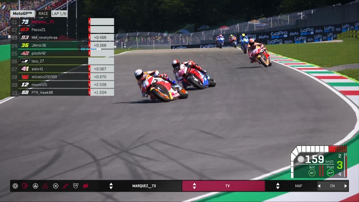 První virtuální závod MotoGP zaujal miliony lidí
