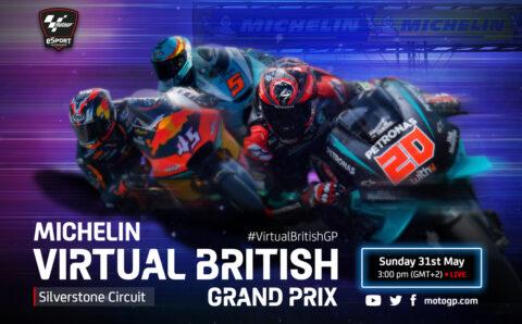 Virtuální britská Grand Prix 2020