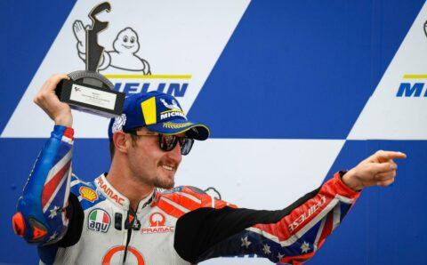 Jack Miller bude od roku 2021 továrním jezdcem Ducati
