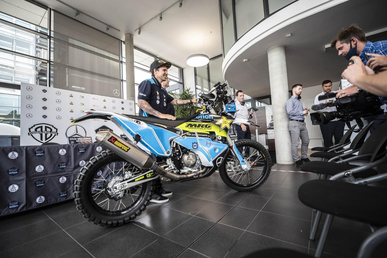 Libor Podmol se chystá na Dakar v českém týmu MRG