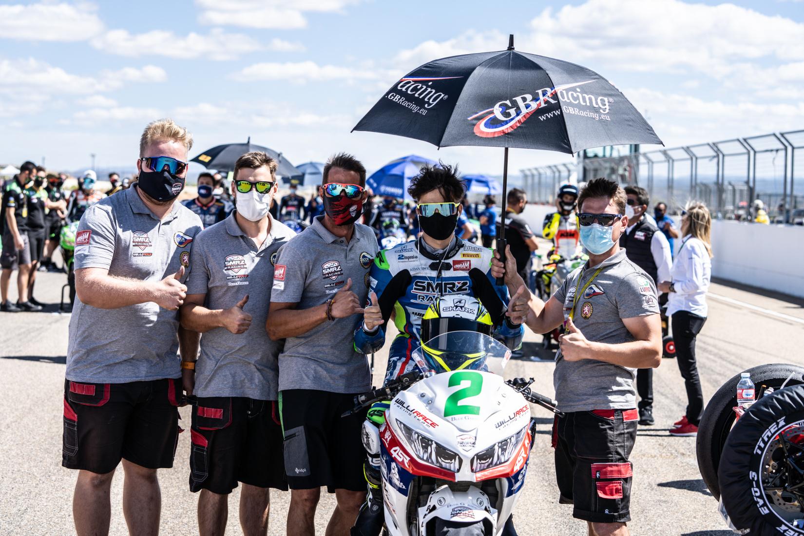 ACCR Czech Talent Team – Willi Race po závodech v Aragónu