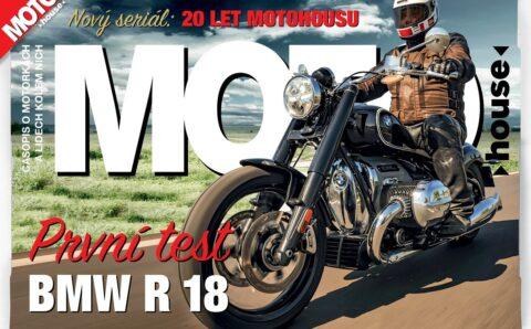 Právě vychází nový Motohouse 10/2020