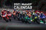 Provizorní kalendář závodů a testů MotoGP 2021